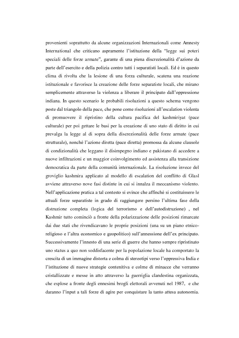 Anteprima della tesi: Il conflitto del Kashmir: l'approccio della Peace Research, Pagina 8