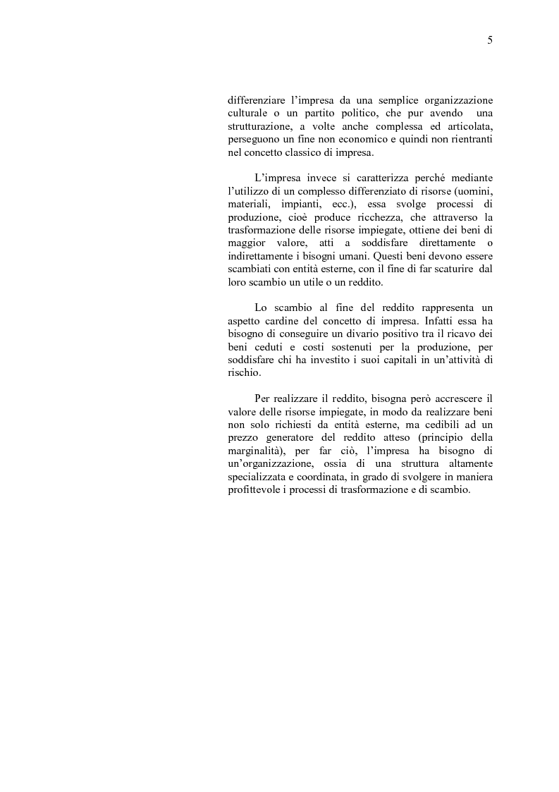 Anteprima della tesi: La crisi d'impresa e le strategie di turnaround. Il caso Ciabor., Pagina 6