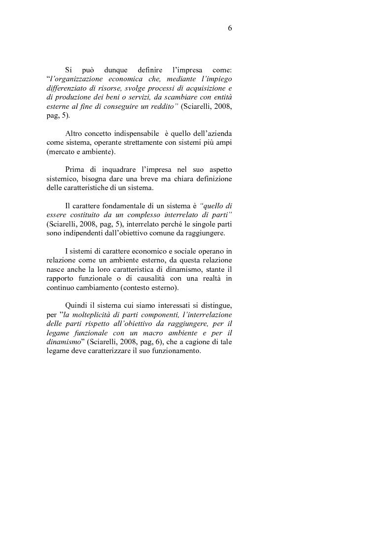Anteprima della tesi: La crisi d'impresa e le strategie di turnaround. Il caso Ciabor., Pagina 7