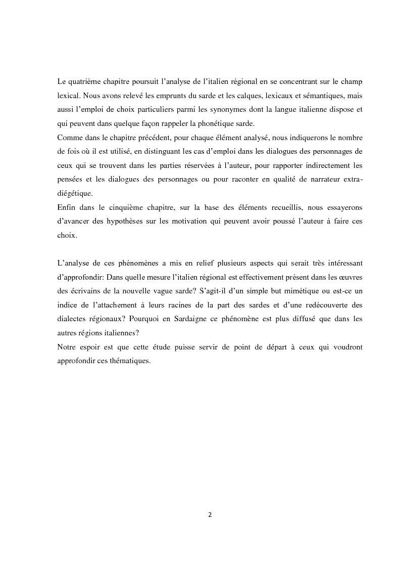 """Anteprima della tesi: L'italiano regionale sardo nel romanzo """"Accabadora"""" di Michela Murgia, Pagina 3"""