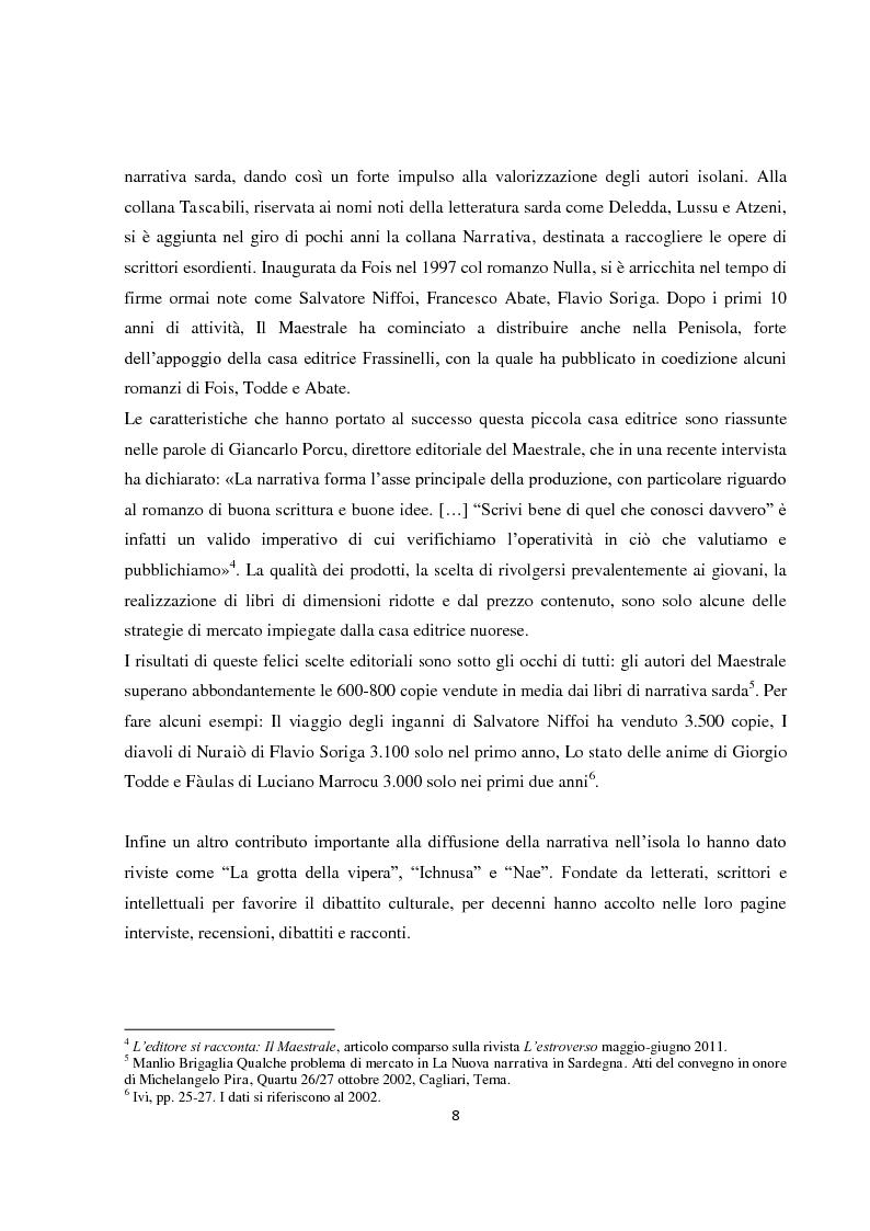 """Anteprima della tesi: L'italiano regionale sardo nel romanzo """"Accabadora"""" di Michela Murgia, Pagina 9"""