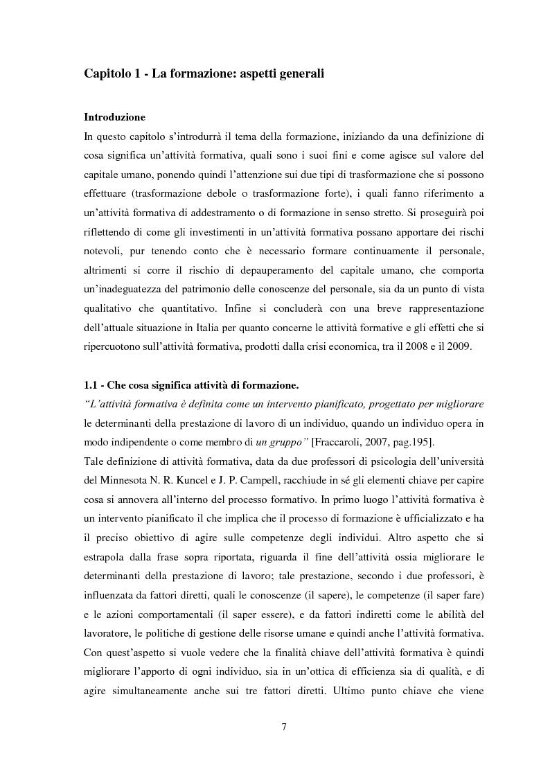 """Anteprima della tesi: Il metodo dell'e-learning nell'ambito del processo formativo. L'esempio del progetto """"SIFOL FVG"""" , Pagina 4"""