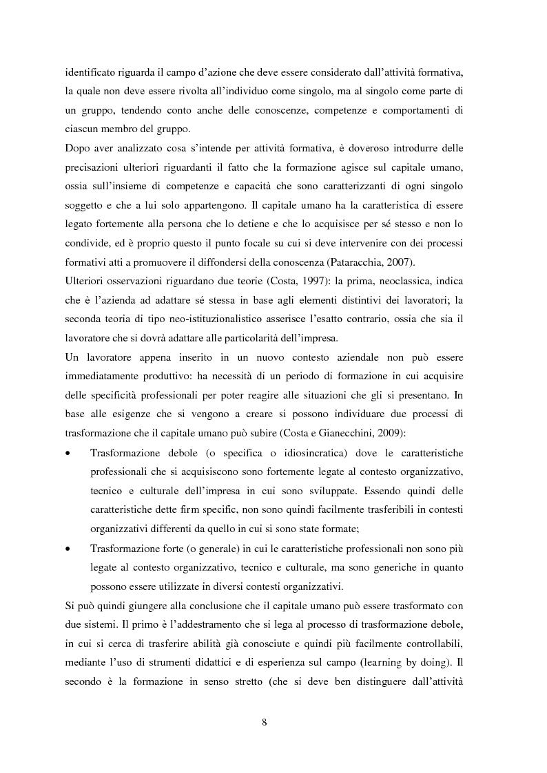 """Anteprima della tesi: Il metodo dell'e-learning nell'ambito del processo formativo. L'esempio del progetto """"SIFOL FVG"""" , Pagina 5"""