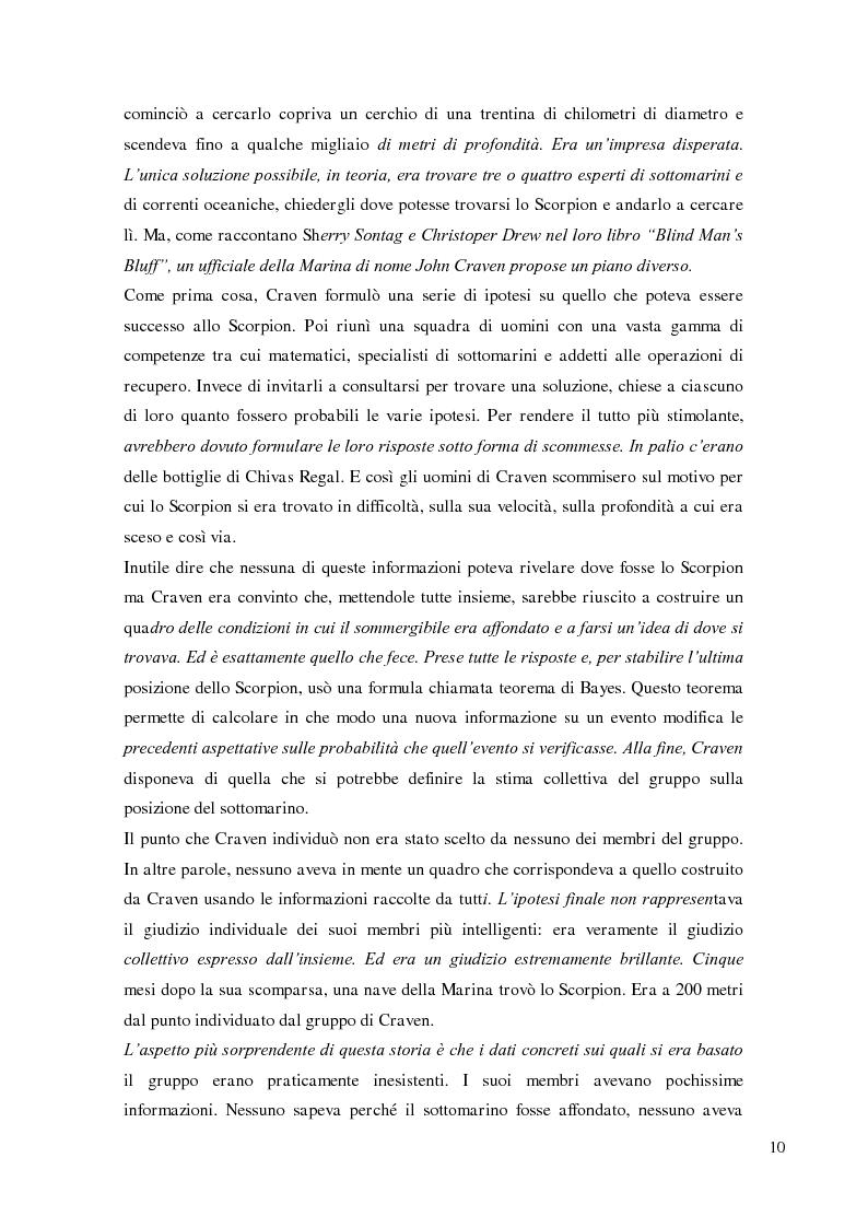 Anteprima della tesi: Crowdsourcing e open-innovation. Perché la folla conosce la soluzione migliore., Pagina 10