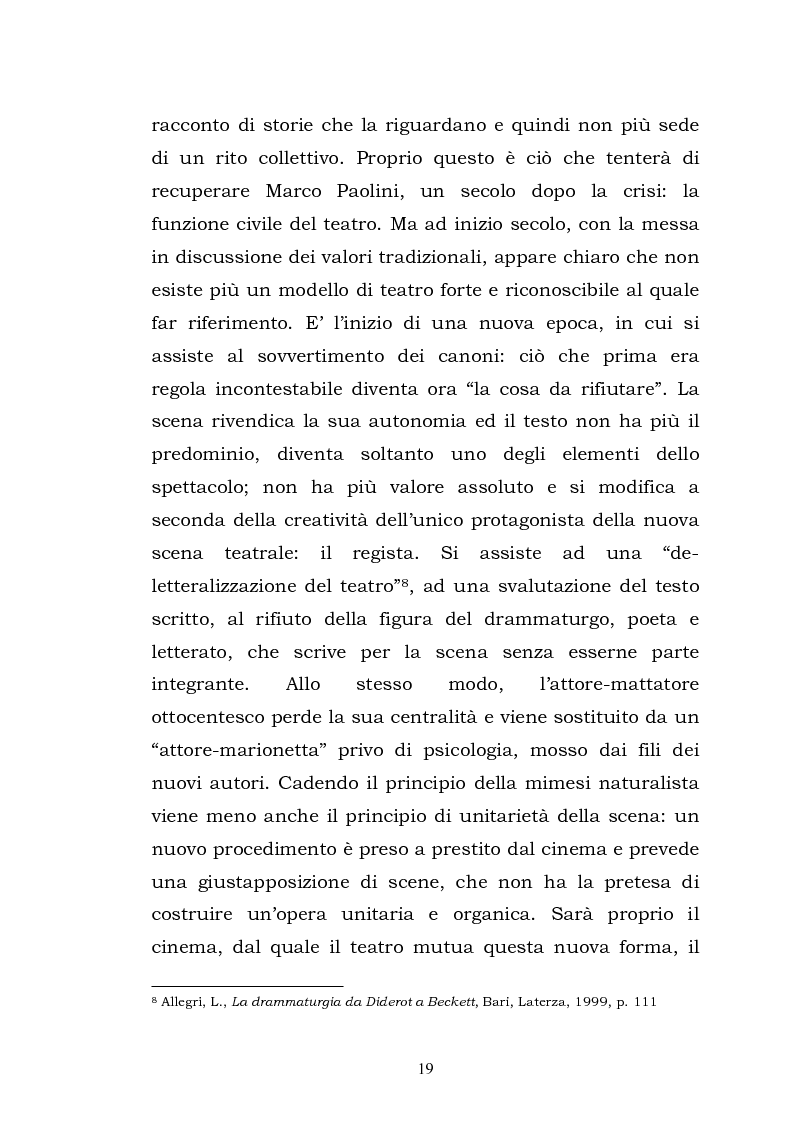 Anteprima della tesi: Teatro, memoria, identità: l'esperienza di Marco Paolini, Pagina 11
