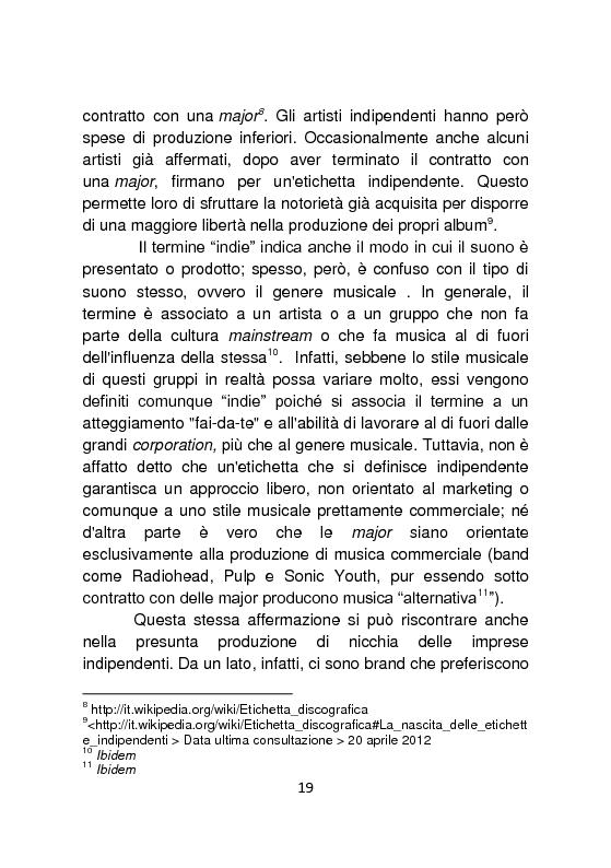 Anteprima della tesi: Independent Brands: il viaggio della marca dall'indie al mainstream, Pagina 10