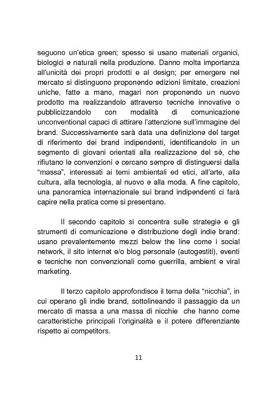 Anteprima della tesi: Independent Brands: il viaggio della marca dall'indie al mainstream, Pagina 4