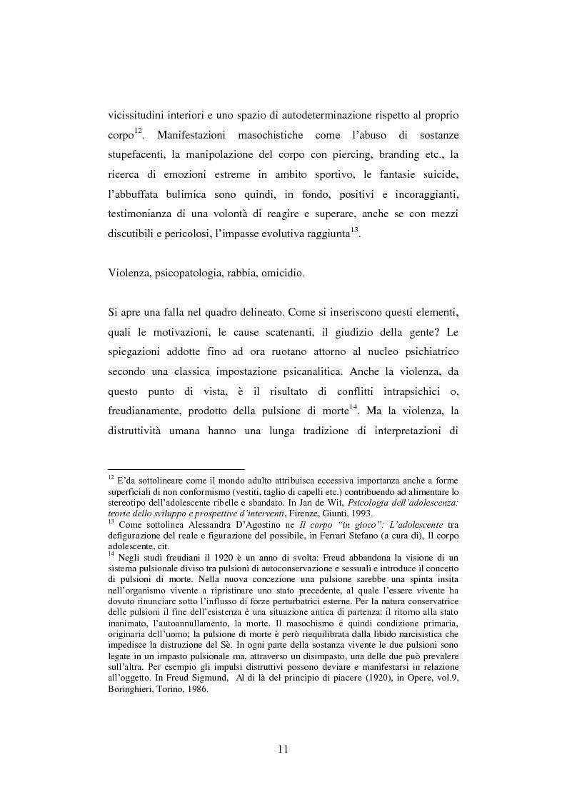 Anteprima della tesi: La colpa innocente. Lo sguardo cinematografico sulle interferenze ambientali nello sviluppo adolescenziale: Loach, Jordan, Bellocchio, Van Sant, Pagina 9
