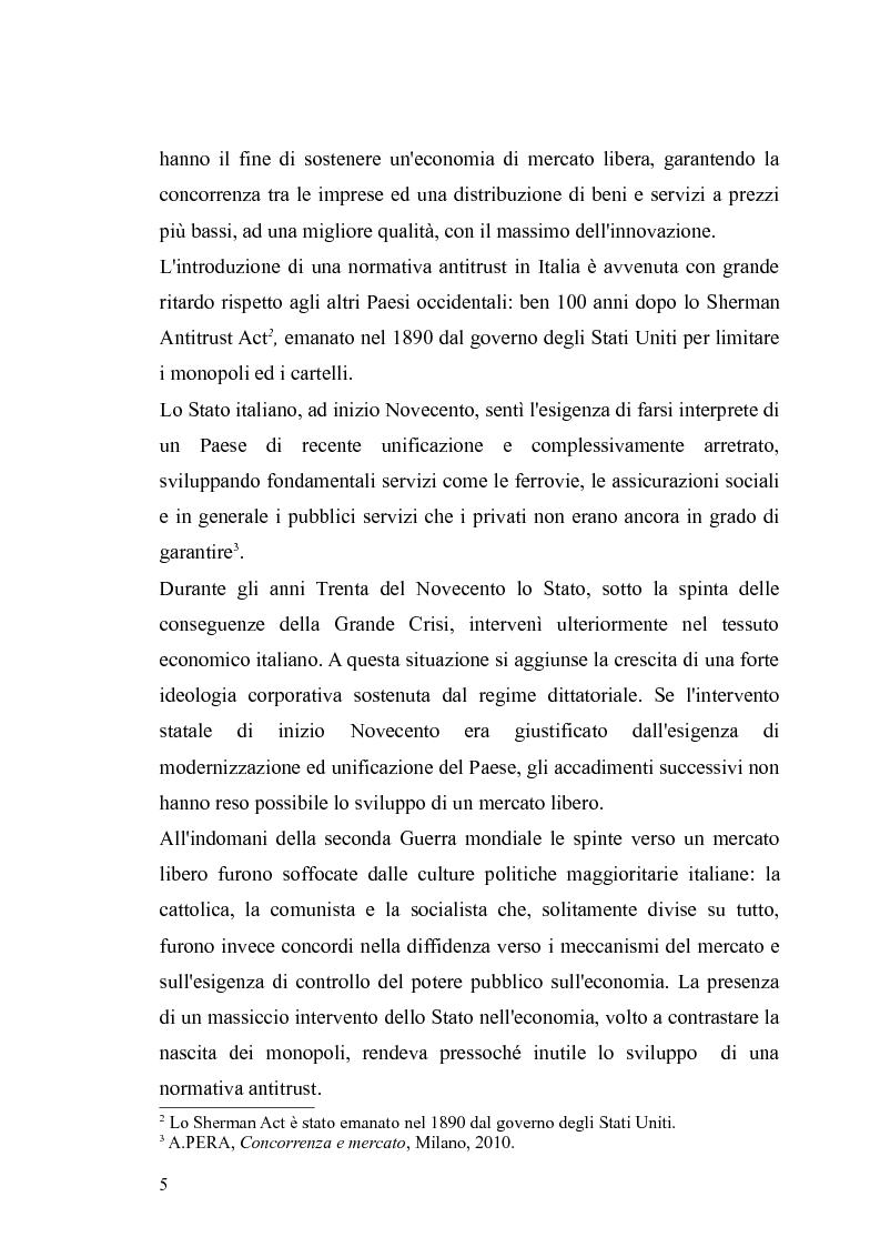 Anteprima della tesi: I provvedimenti dell'Autorità garante nel settore dei trasporti, Pagina 3