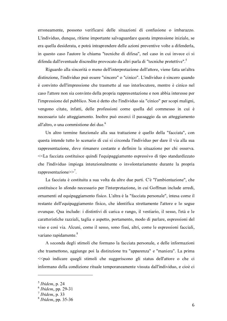 Anteprima della tesi: Abbigliamento e identità sociale, Pagina 4