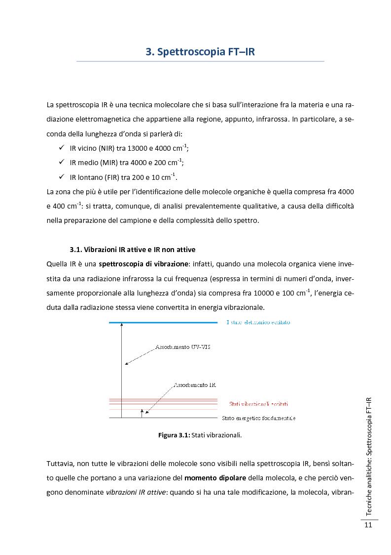 Anteprima della tesi: Caratterizzazione multitecnica di materiali adesivi e di riempimento usati nella oreficeria medievale, Pagina 12