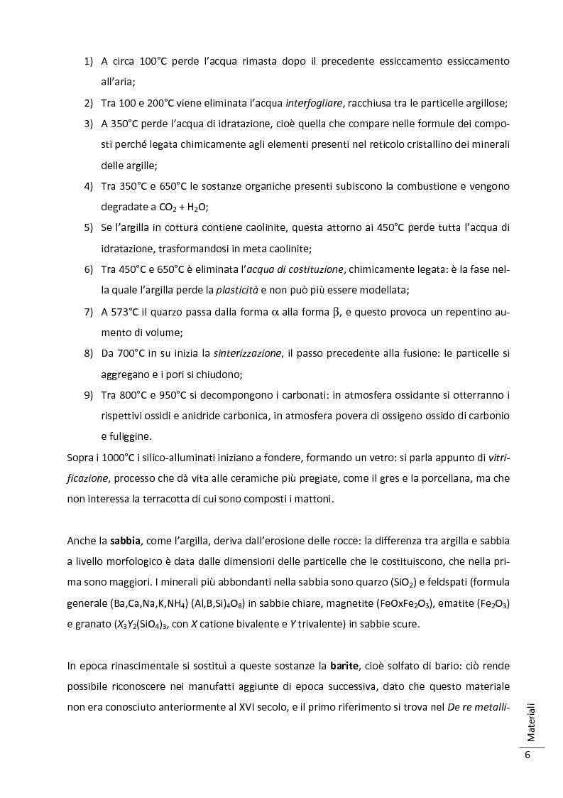 Anteprima della tesi: Caratterizzazione multitecnica di materiali adesivi e di riempimento usati nella oreficeria medievale, Pagina 7