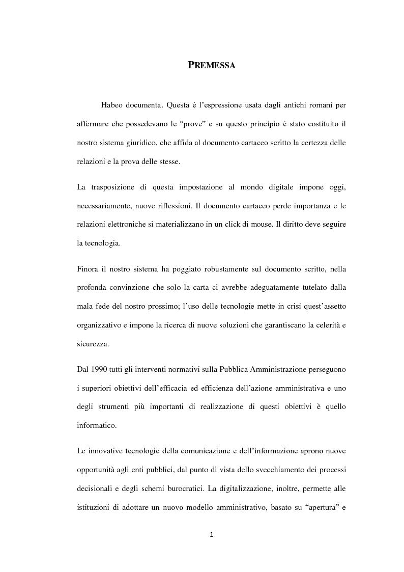 Anteprima della tesi: Dalla trasparenza documentale all'open data: criticità e vantaggi nell'implementazione dell'agenda digitale italiana, Pagina 2