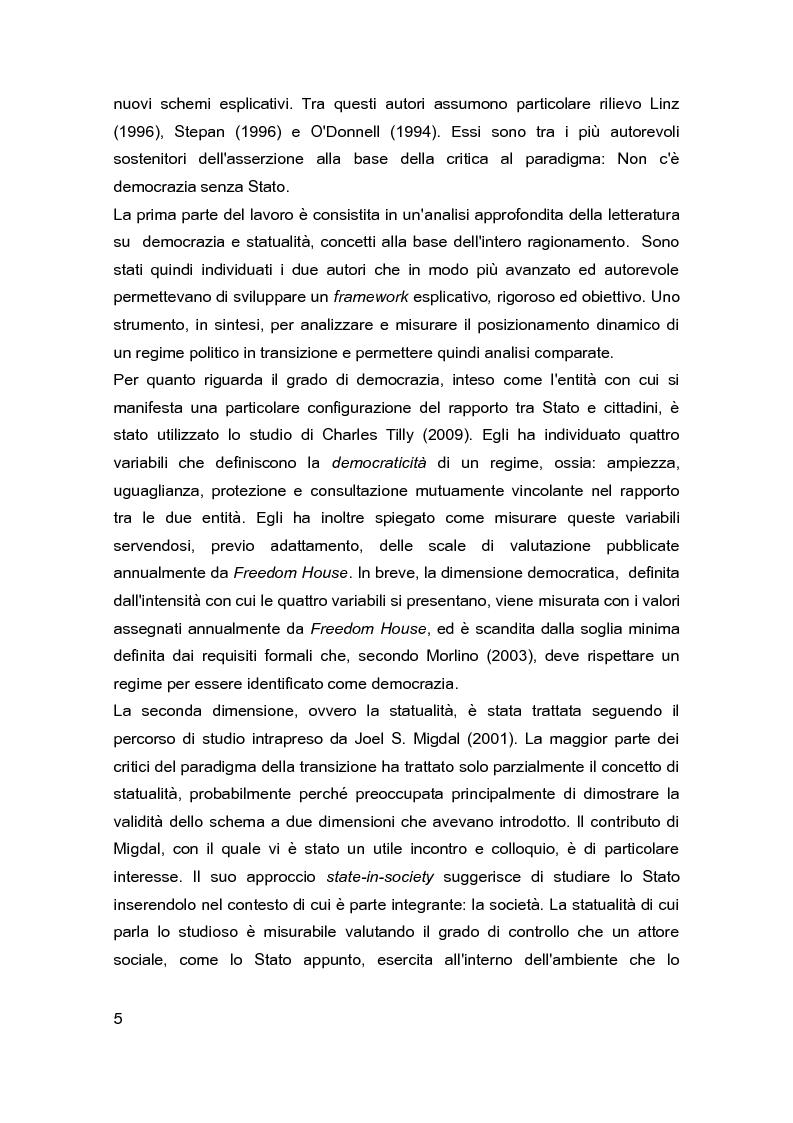 Anteprima della tesi: Democrazia e Statualità nei regimi in transizione: i casi di Israele e della Federazione Russa, Pagina 3
