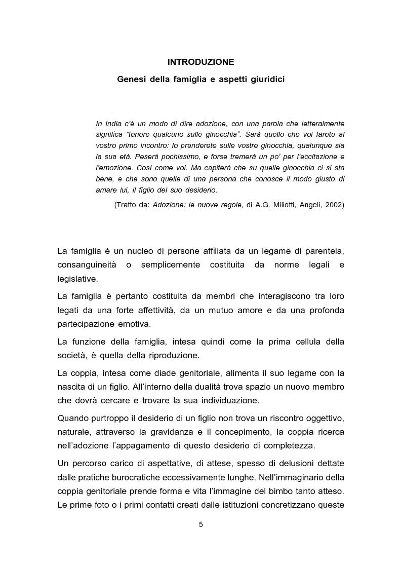 Anteprima della tesi: Adozione e adolescenza, Pagina 2