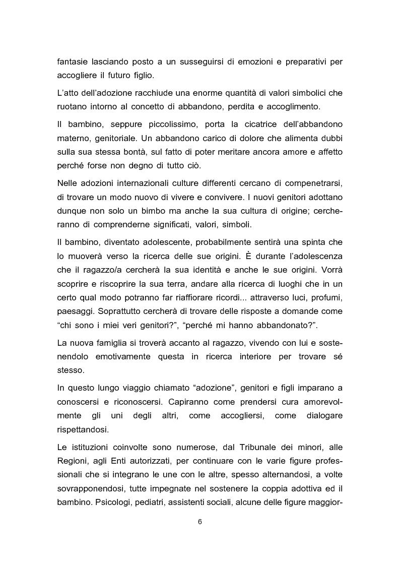Anteprima della tesi: Adozione e adolescenza, Pagina 3