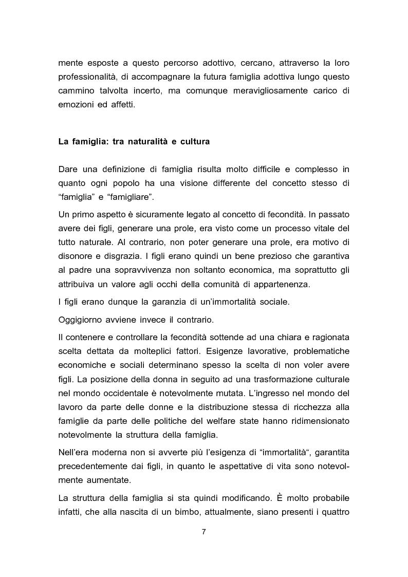 Anteprima della tesi: Adozione e adolescenza, Pagina 4