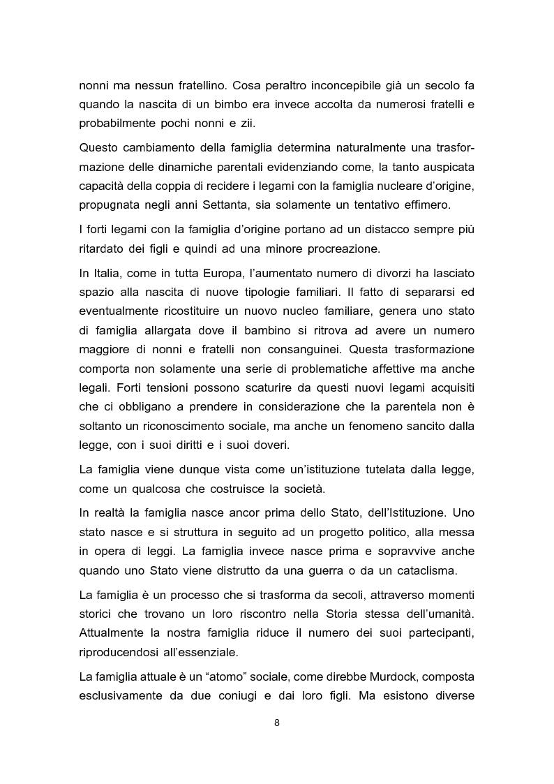 Anteprima della tesi: Adozione e adolescenza, Pagina 5