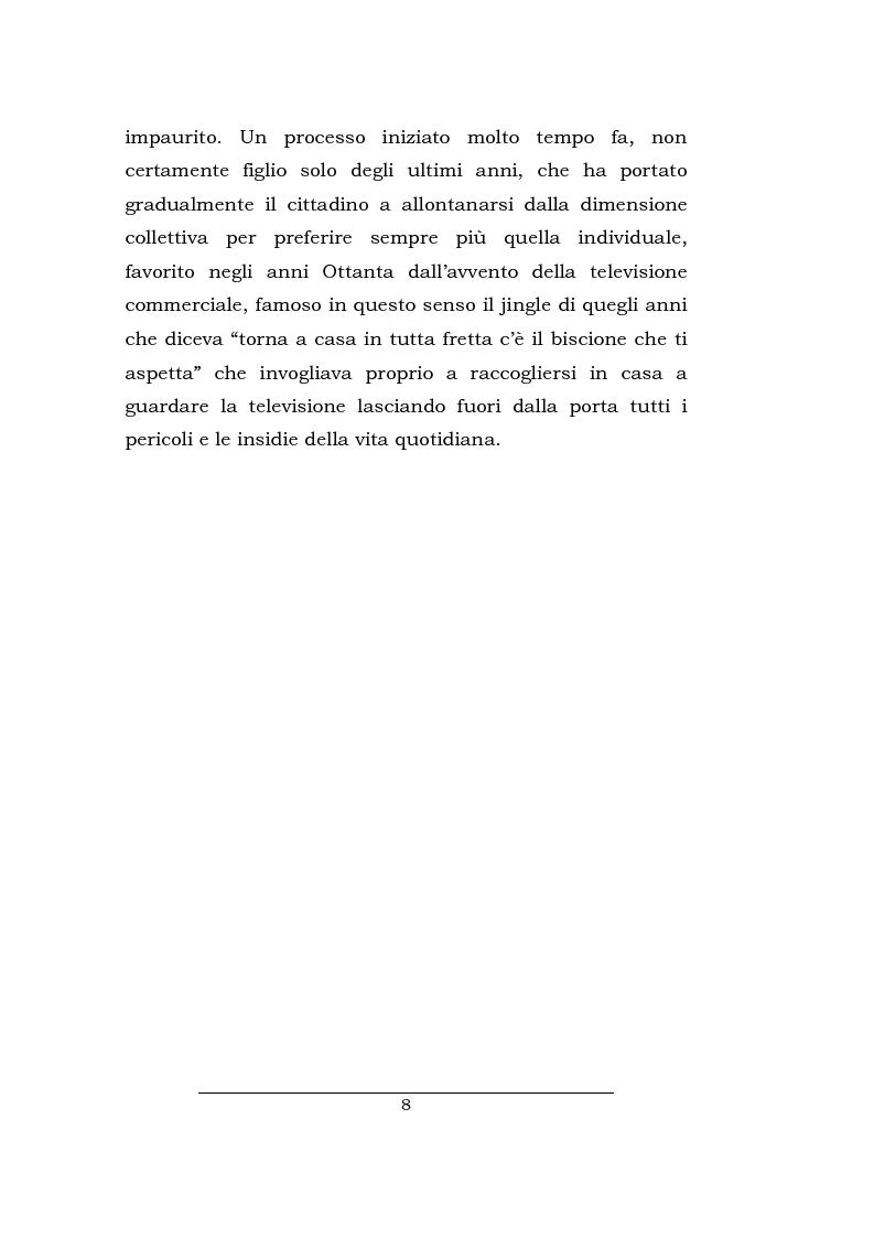 Anteprima della tesi: Lo spazio della cronaca nei telegiornali: un'indagine diacronica, Pagina 7