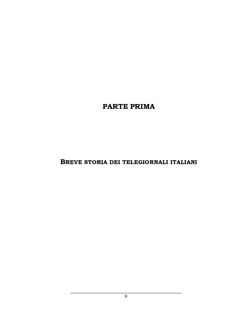 Anteprima della tesi: Lo spazio della cronaca nei telegiornali: un'indagine diacronica, Pagina 8