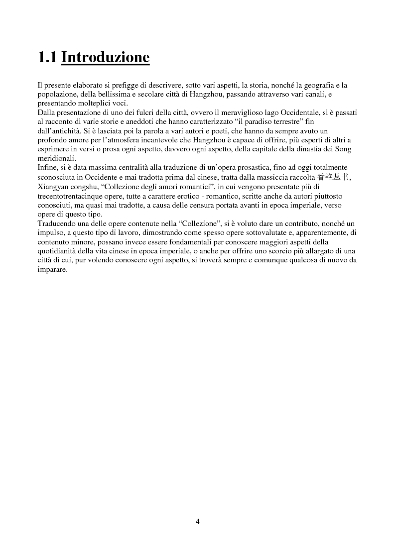 Anteprima della tesi: Hangzhou: il lago e gli amori, Pagina 2