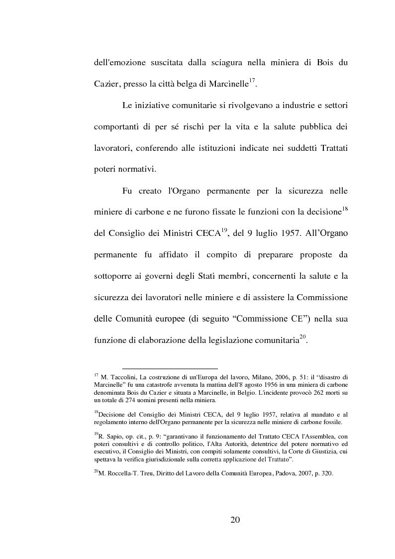 Anteprima della tesi: La sicurezza dei macchinari nei luoghi di lavoro, Pagina 13