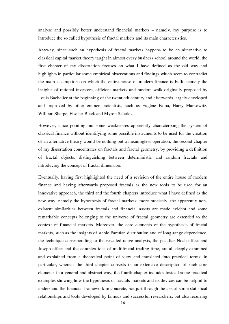 Anteprima della tesi: Black Swans and fractals: a better way to understand financial markets?, Pagina 3