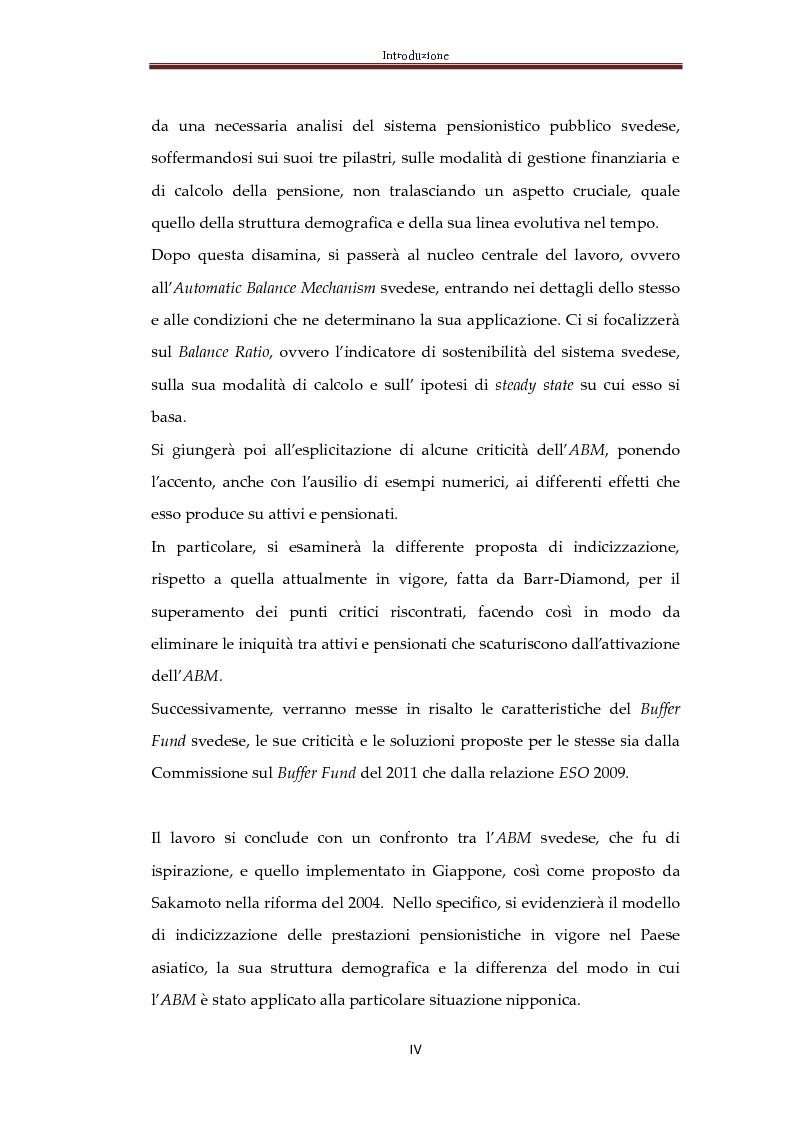 Anteprima della tesi: Automatic Balance Mechanism nel sistema pensionistico svedese, Pagina 3