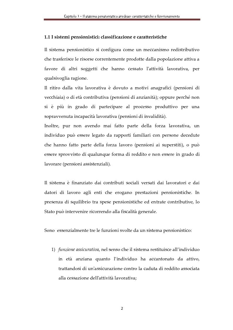 Anteprima della tesi: Automatic Balance Mechanism nel sistema pensionistico svedese, Pagina 5