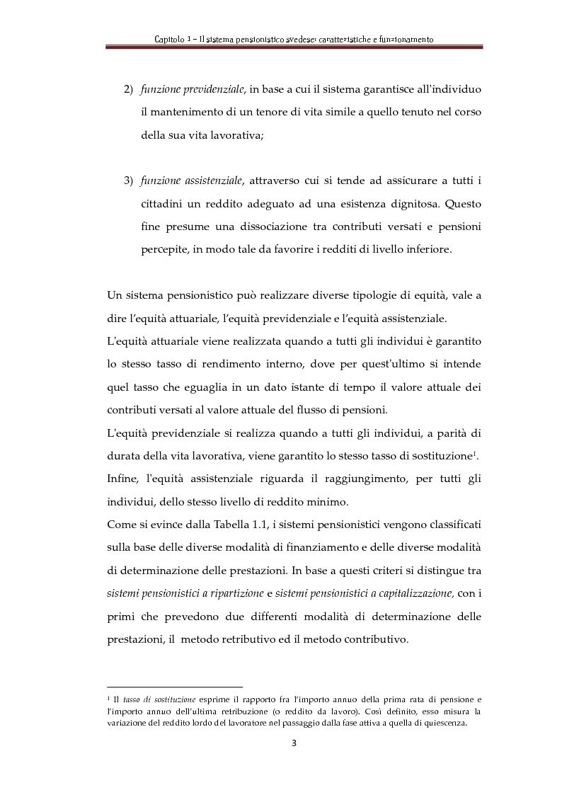 Anteprima della tesi: Automatic Balance Mechanism nel sistema pensionistico svedese, Pagina 6