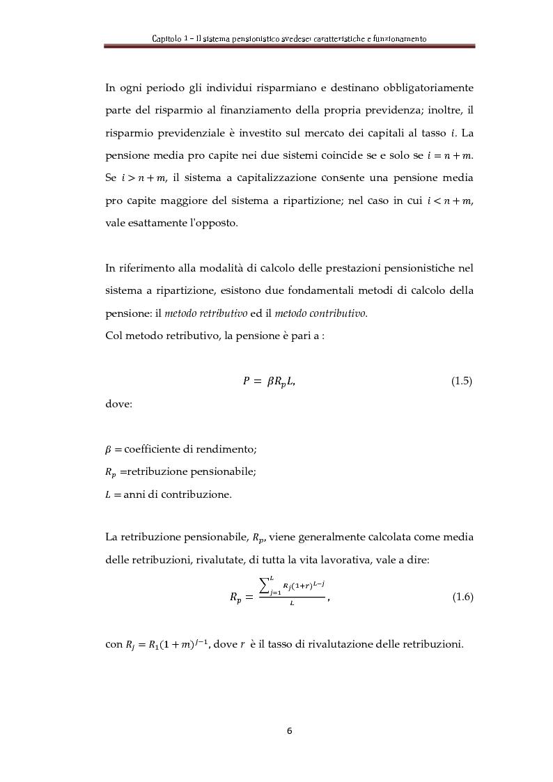 Anteprima della tesi: Automatic Balance Mechanism nel sistema pensionistico svedese, Pagina 9