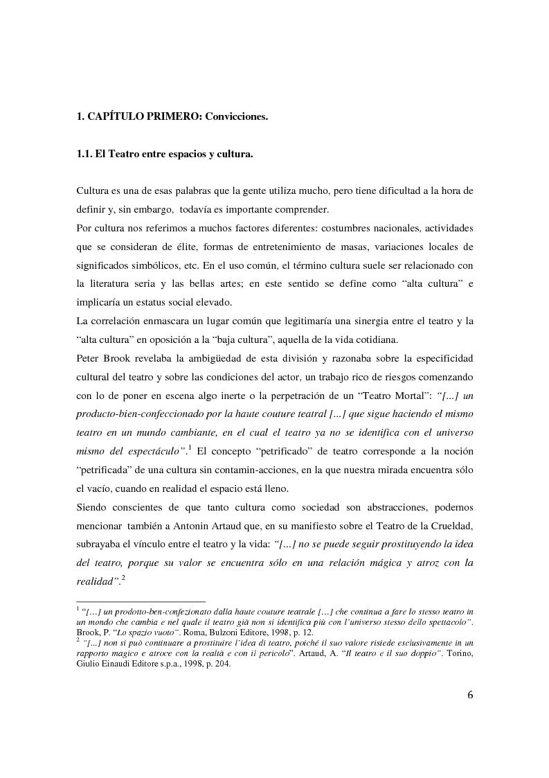 Anteprima della tesi: Teatro Digital. Poética y performatividad de los dispositivos multimedia y entornos web, Pagina 5