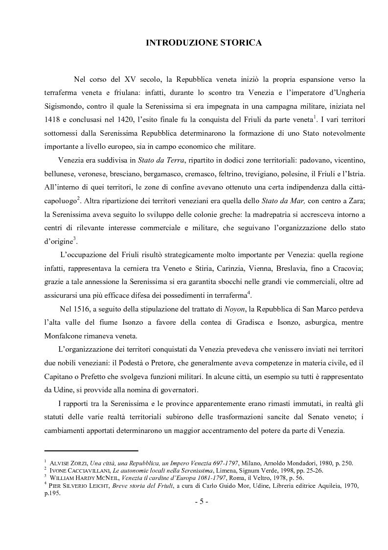 Anteprima della tesi: Archivio notarile di Udine: riordinamento e inventariazione della serie ''Indici dei contraenti'' (sec. XIX) conservata presso l'Archivio di Stato di Udine, Pagina 2