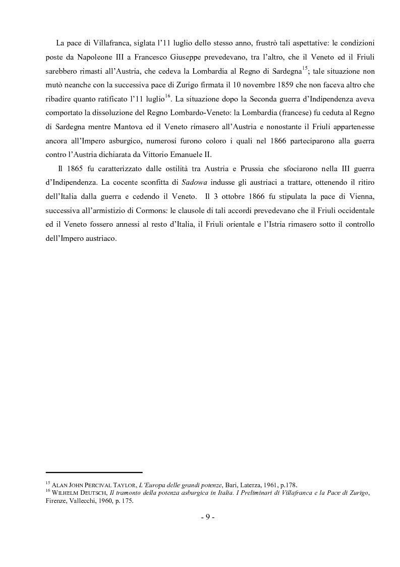 Anteprima della tesi: Archivio notarile di Udine: riordinamento e inventariazione della serie ''Indici dei contraenti'' (sec. XIX) conservata presso l'Archivio di Stato di Udine, Pagina 6