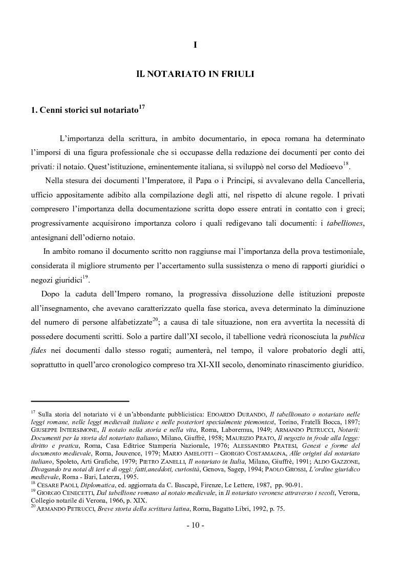 Anteprima della tesi: Archivio notarile di Udine: riordinamento e inventariazione della serie ''Indici dei contraenti'' (sec. XIX) conservata presso l'Archivio di Stato di Udine, Pagina 7