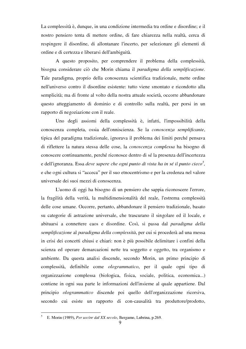 Anteprima della tesi: Formazione e Progetto di vita. Alcuni studi e riflessioni collegati al territorio cesenate, Pagina 7