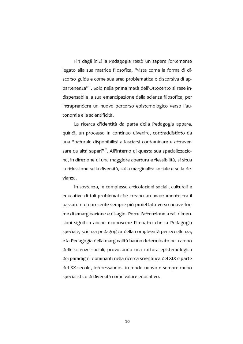 Anteprima della tesi: Adolescenti e Nuove diversità. Progettare Prevenzione, Pagina 10