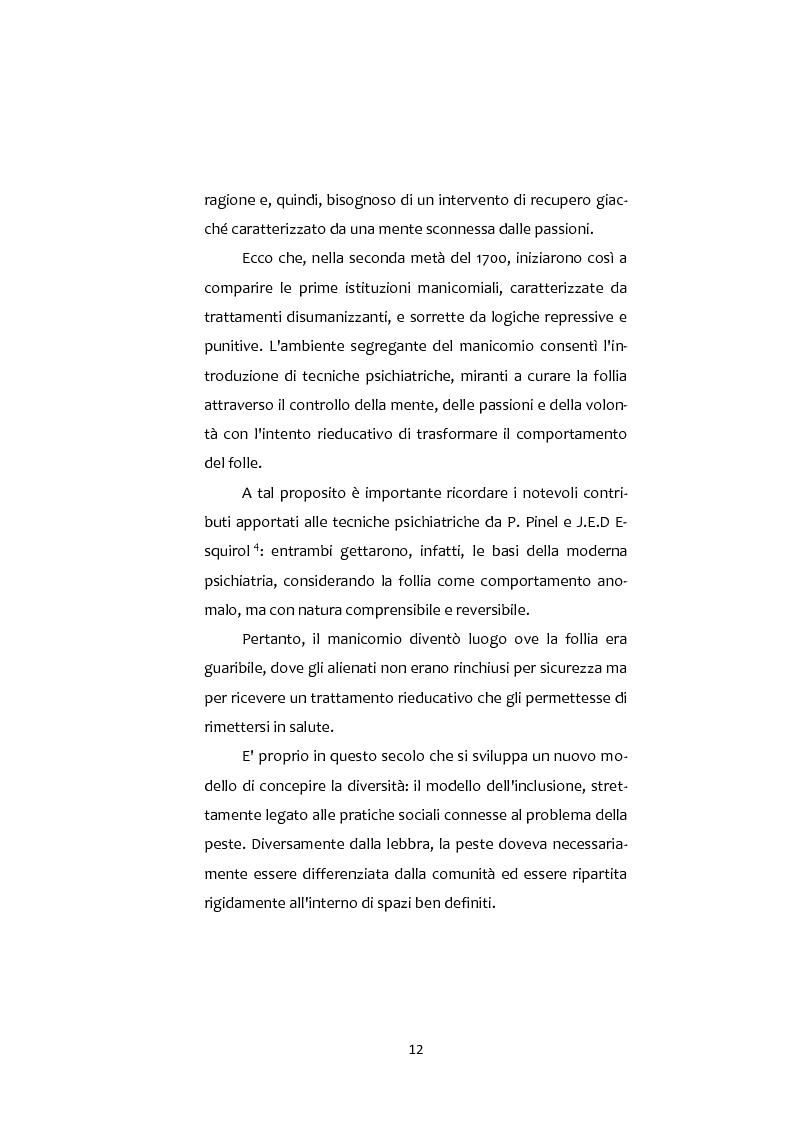 Anteprima della tesi: Adolescenti e Nuove diversità. Progettare Prevenzione, Pagina 12