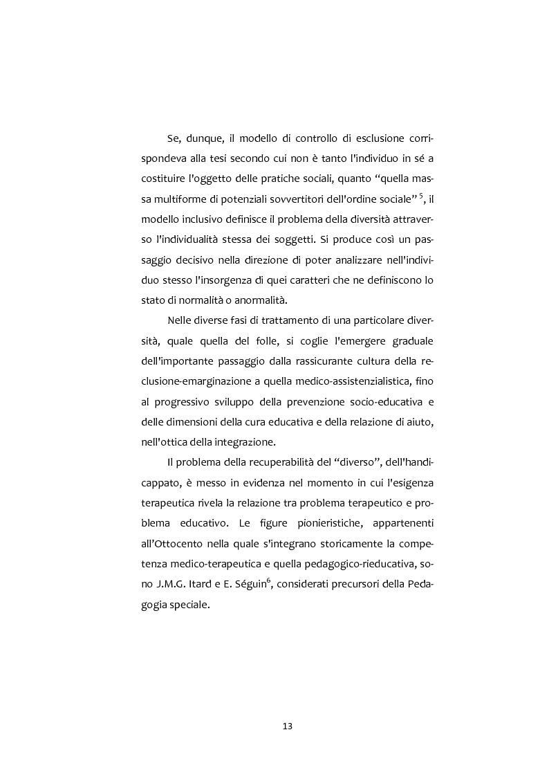 Anteprima della tesi: Adolescenti e Nuove diversità. Progettare Prevenzione, Pagina 13