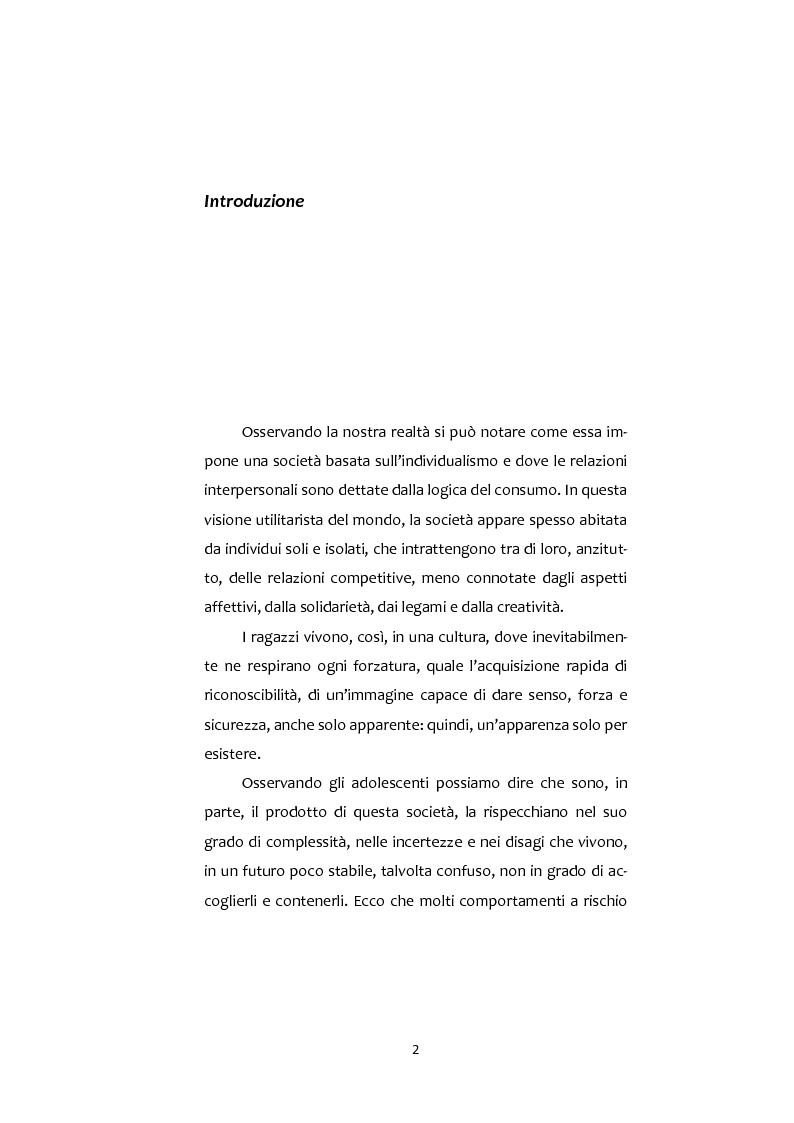 Anteprima della tesi: Adolescenti e Nuove diversità. Progettare Prevenzione, Pagina 2