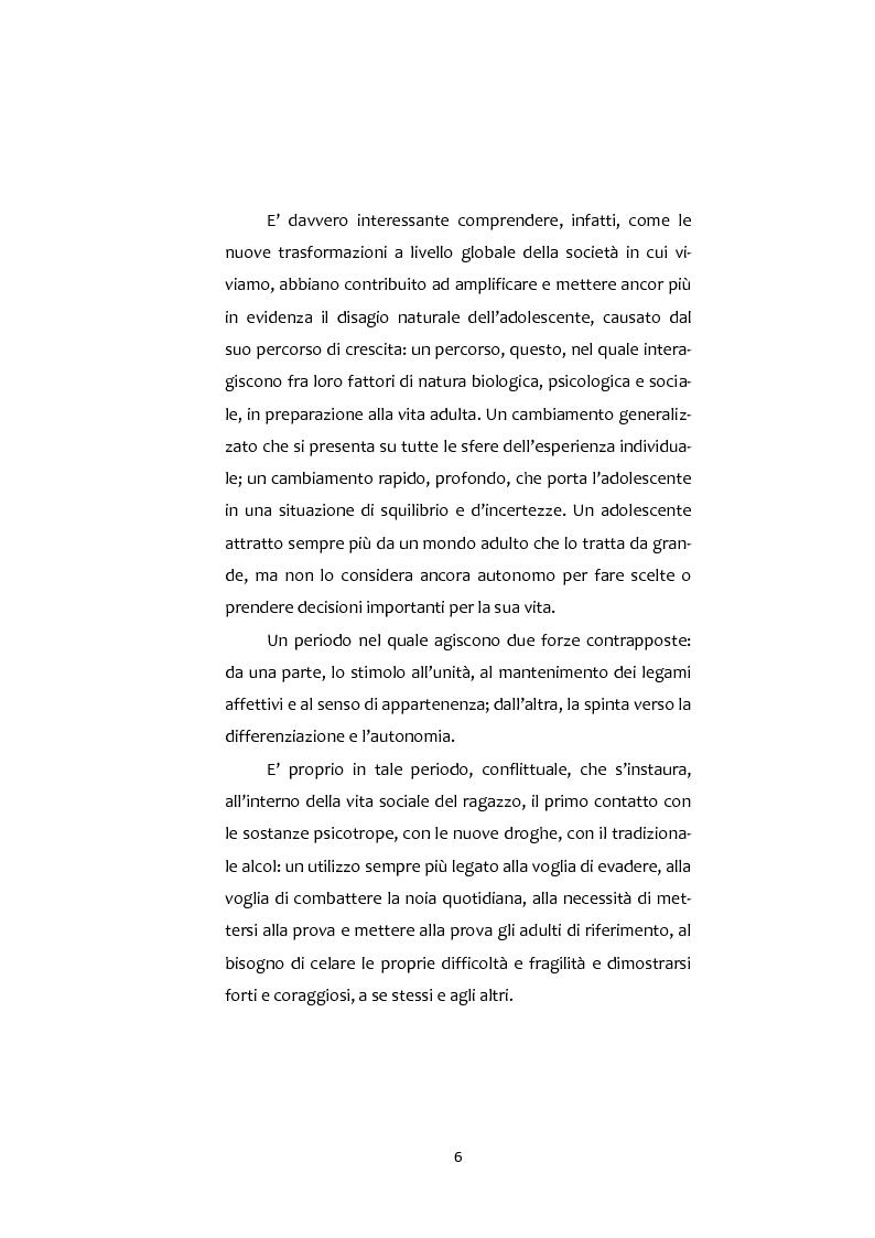 Anteprima della tesi: Adolescenti e Nuove diversità. Progettare Prevenzione, Pagina 6