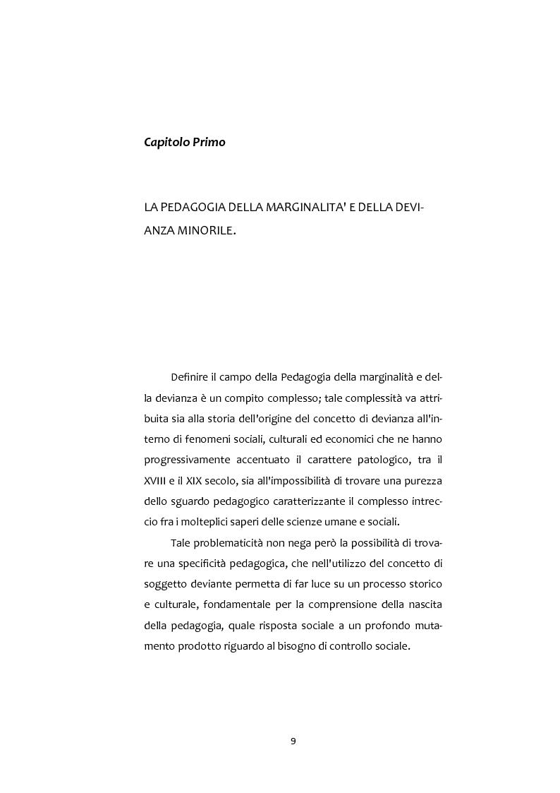 Anteprima della tesi: Adolescenti e Nuove diversità. Progettare Prevenzione, Pagina 9