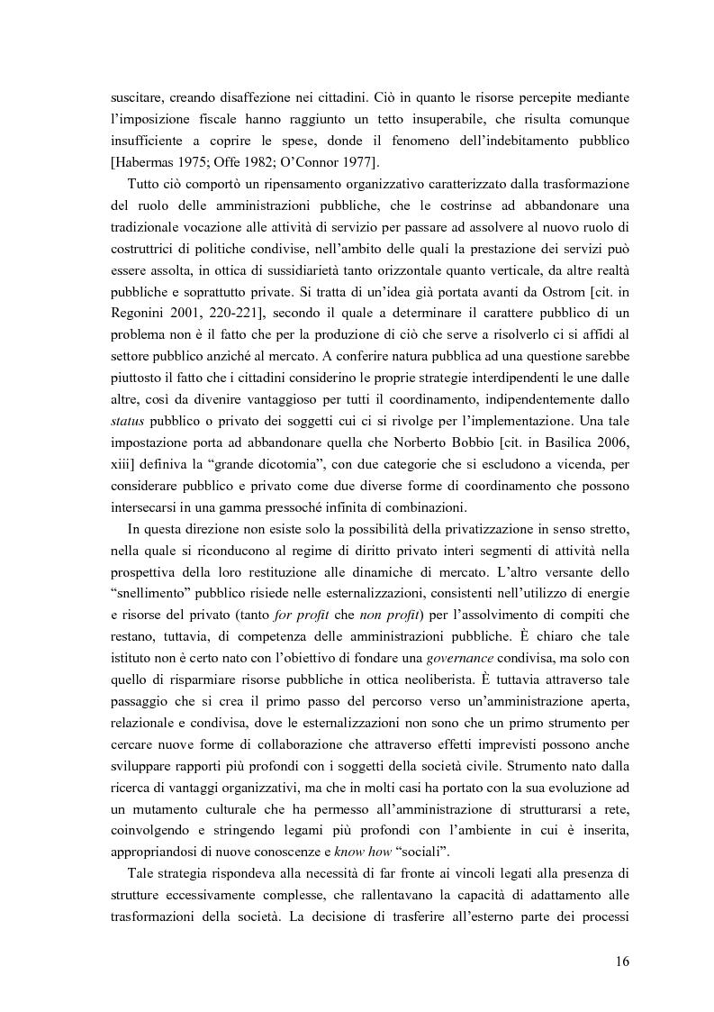 Anteprima della tesi: Partecipazione, cittadinanza attiva e nuovi modelli di governance. Uno studio di caso nell'area genovese, Pagina 13