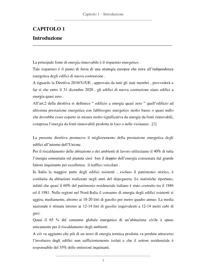 Anteprima della tesi: Influenze dei dettagli costruttivi sull'isolamento termico degli edifici, Pagina 2
