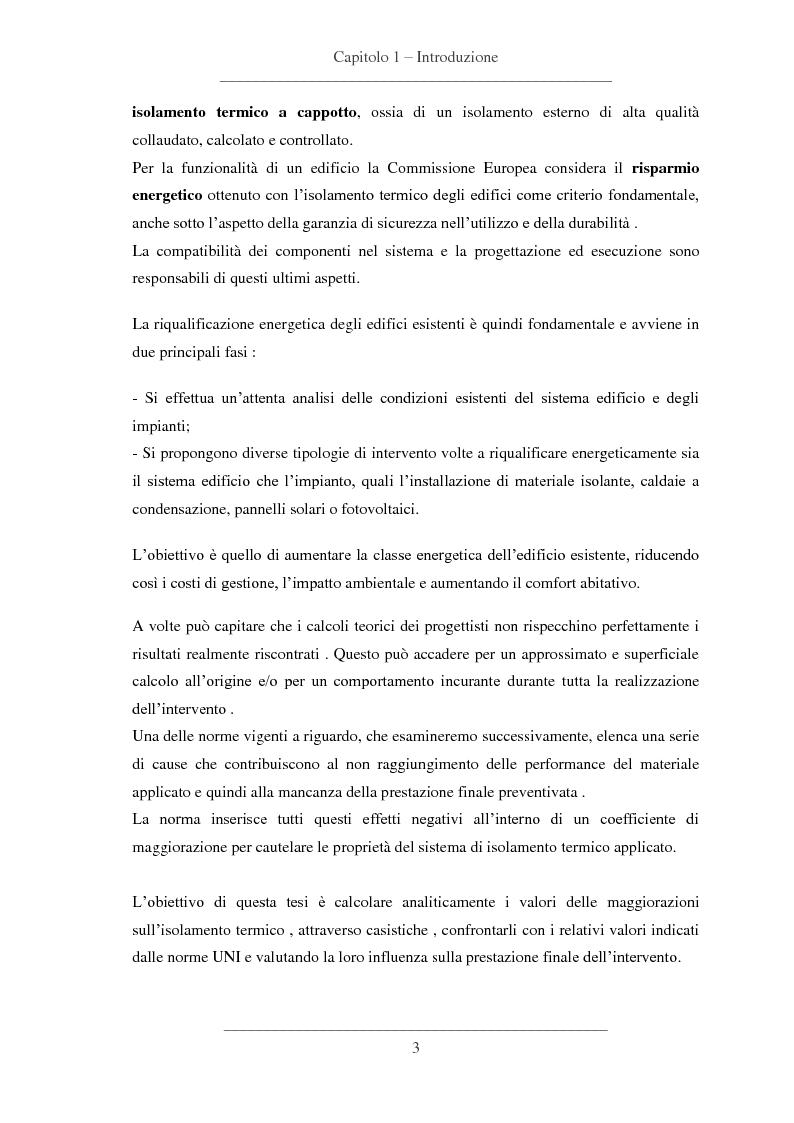 Anteprima della tesi: Influenze dei dettagli costruttivi sull'isolamento termico degli edifici, Pagina 4