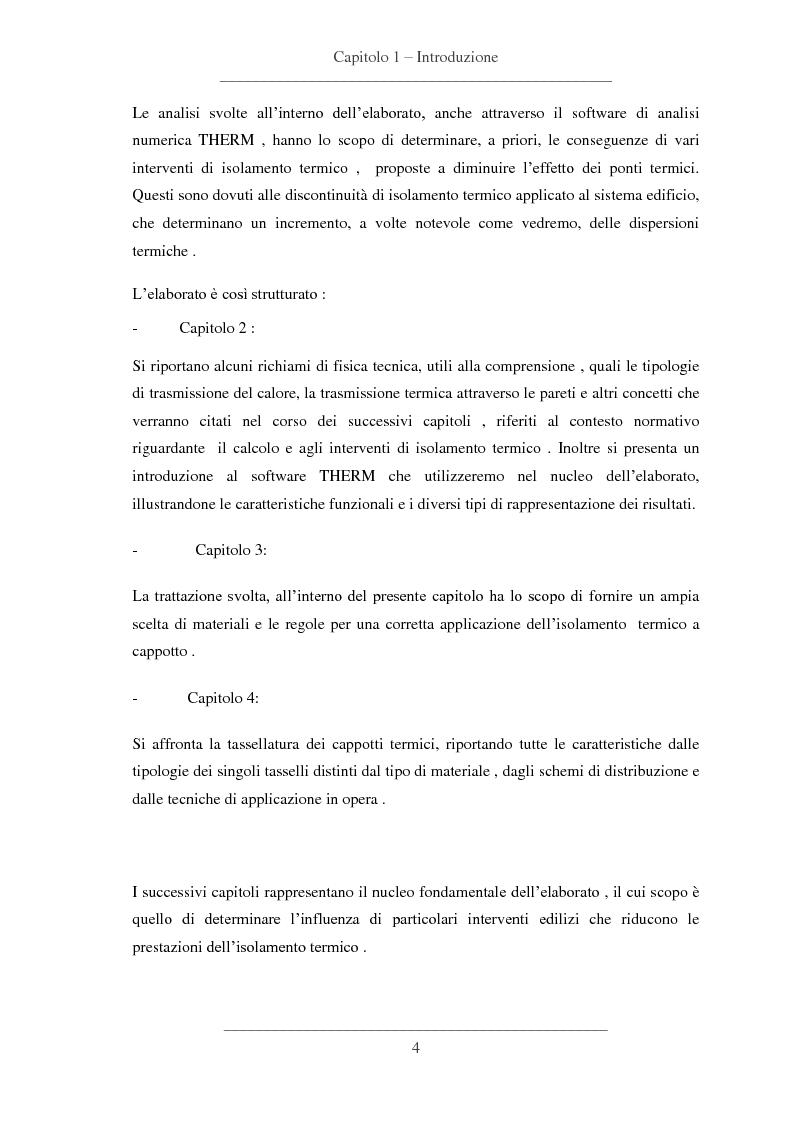 Anteprima della tesi: Influenze dei dettagli costruttivi sull'isolamento termico degli edifici, Pagina 5