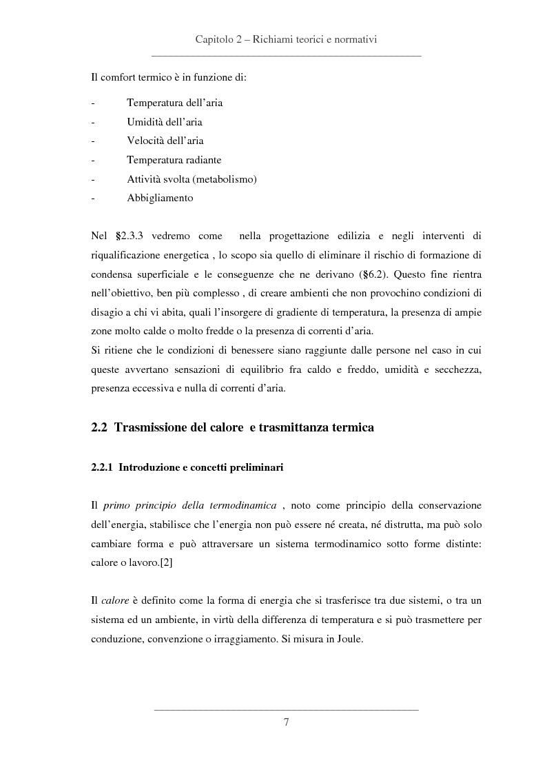 Anteprima della tesi: Influenze dei dettagli costruttivi sull'isolamento termico degli edifici, Pagina 8