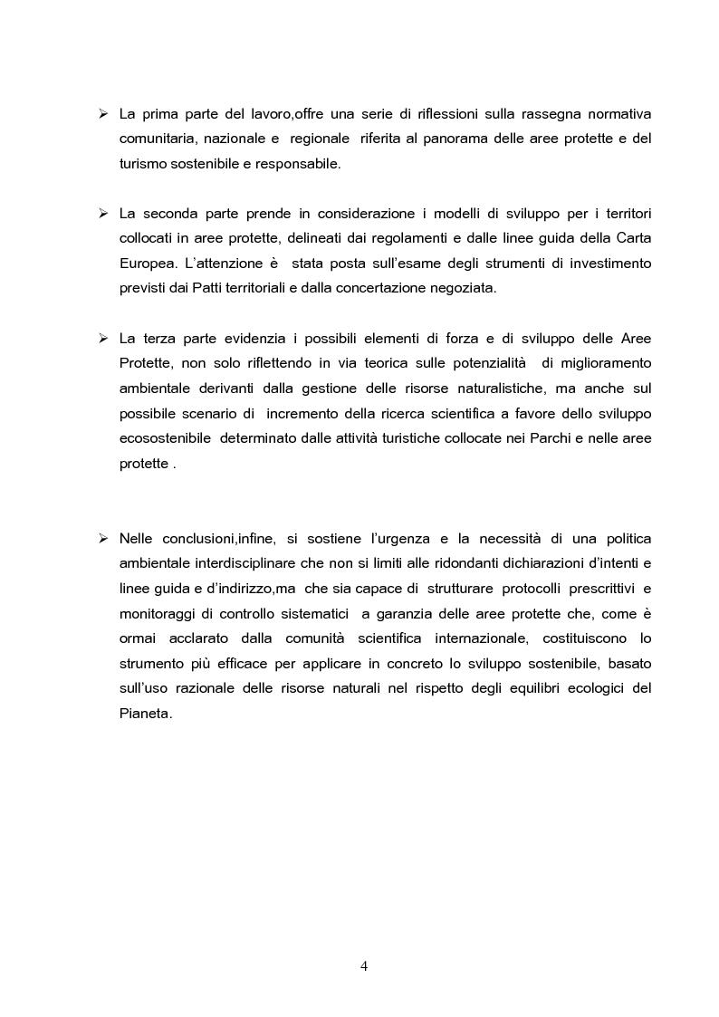 Anteprima della tesi: Riserve Naturali e Turismo Ecosostenibile, Pagina 3