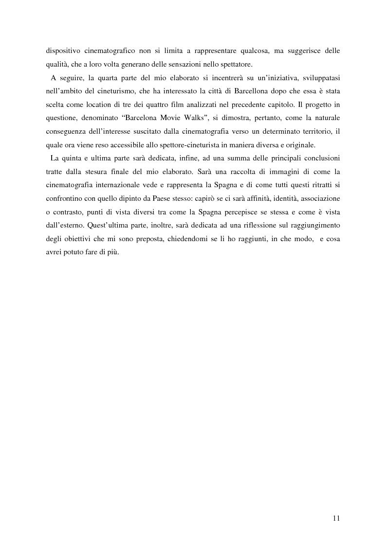 Anteprima della tesi: La rappresentazione della Spagna nel cinema contemporaneo: aspetti estetici, semiotici ed economici, Pagina 5