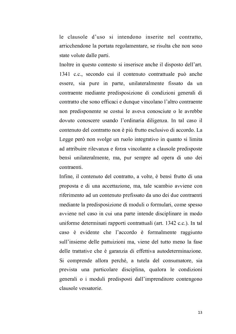 Anteprima della tesi: Proposta irrevocabile e patto d'opzione, Pagina 10
